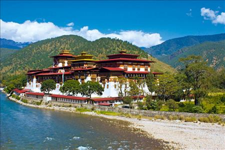 Kloster bei Punakha - Archiv / Dreamstime